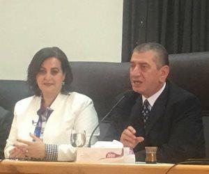 """استجابة لـ""""صوت الأمة"""" منى محرز: تواصلت مع محافظ كفر الشيخ لزيادة تأمين بحيرة البرلس"""