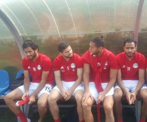 الفراعنة VS بلجيكا.. انب من تدريب منتخب مصر (صور)