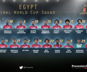 15 لاعبا محترفا في قائمة منتخب مصر بكأس العالم.. تعرف عليهم