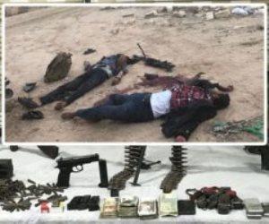 الأمن الوطني يصفى 15 إرهابيا فى العريش