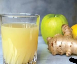 خليك نضيف من جواك.. طريقة عمل وصفة الزنجبيل والتفاح والملح لطرد سموم القولون