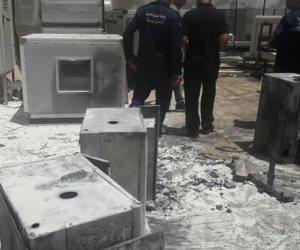 حريق محدود بمستشفى بئر العبد.. ورئيس المدينة يحيل المسؤولين للتحقيق (صور)