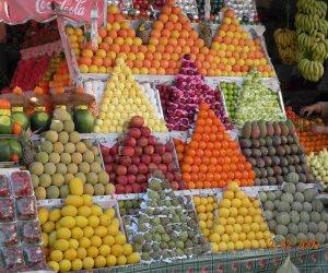 اسعار الفاكهة اليوم الأحد.. 4 جنيهات للموز و6 للتفاح والمانجو بـ12 جنيها (صور)
