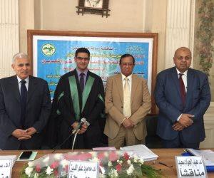 مصطفى النجار يحصل على الماجستير في الصحافة من معهد البحوث العربية (صور)