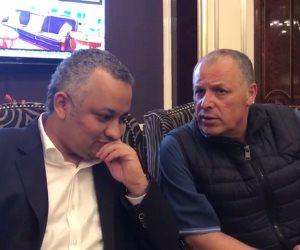 رئيس اتحاد الكرة يلتقي نظيره السعودي قبل كأس العالم.. وأبوريدة: صلاح هيلعب (فيديو)