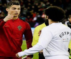 """منتخب صلاح VS منتخب رونالدو.. البرتغال فريق """"الدون"""" ويجري خلفه 10 لاعبين"""