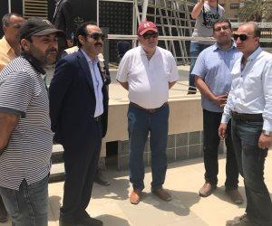 وزير في حديقة المريلاند.. سر ظهور هشام توفيق «كاجوال» في مصر الجديدة (صور)