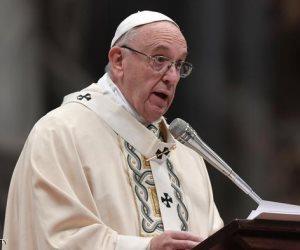 بسبب تغير المناخ.. بابا الفاتيكان يحذر من كارثة
