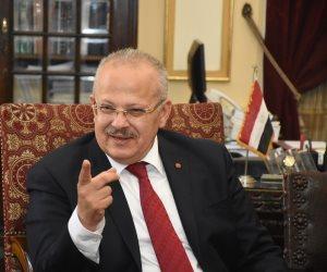 الخشت يبحث استعدادات امتحانات الفصل الدراسى الأول فى اجتماع مجلس جامعة القاهرة