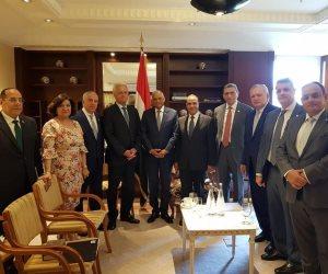 صفحة جديدة في العلاقات الاقتصادية بين مصر وألمانيا يفتحها رئيس البرلمان (صور)