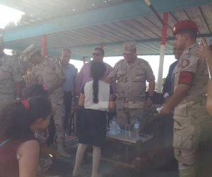 يد تحارب ويد تبني المستقبل.. القوات المسلحة تنظم يوما ترفيهيا لأطفال بئر العبد