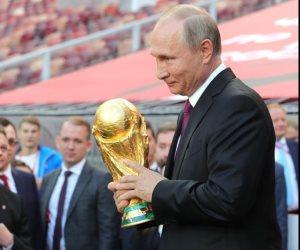 بوتين يحقق مكاسب سياسية وأقتصادية وأمنية من المونديال الكروى