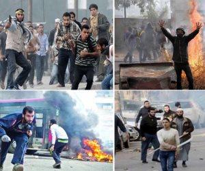 """عام """"مرسي العياط"""" الأسود.. دماء المحتجين تسيل أمام قصر الاتحادية بأمر المعزول ومجموعات مسلحة أمام مكتب الإرشاد لقتل المتظاهرين"""