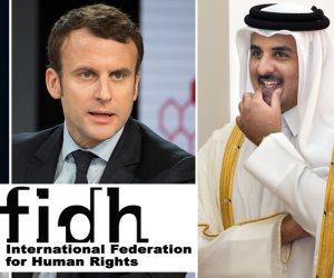 «رجال تميم» في المجتمع المدني يستبقون زيارته إلى فرنسا بتشويه صورة مصر