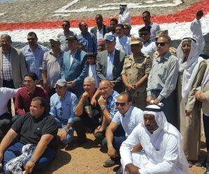 وزير الري و«فودة» يفتتحان أعمال حماية جنوب سيناء من مخاطر السيول بتكلفة 315 مليون جنيه (صور)