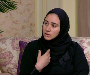 """زوجة المنسي بعد التحاق ابنها بالإعدادية: """"الشهيد لو عايش كان هيحضر معاه"""""""
