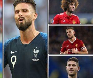 من الأسوأ في البريميرليج لأفضل مهاجم.. 5 نجوم فاجؤوا الجميع في كأس العالم 2018