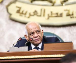رئيس البرلمان يعزي ذوي ضحايا الحادث الإرهابي أمام معهد الأورام بمحيط شارع قصر العيني