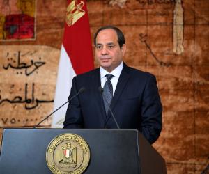 خلال افتتاح الدائري الإقليمي.. الرئيس السيسي: «عوضوا من تم نزع ملكية أراضيهم»