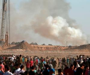 استشهاد قيادي ميداني بحركة الجهاد فى قصف إسرائيلي وسط قطاع غزة