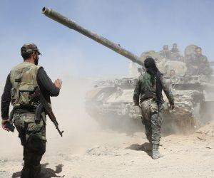 الجيش السورى يحاصر نقطة المراقبة التركية جنوبى إدلب