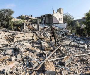 طائرات الاحتلال الإسرائيلي تقصف أهدافا في قطاع غزة