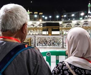 عودة المصلين للمسجد النبوي لأداء صلاة التراويح في رمضان