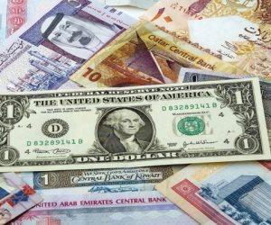 ننشر سعر الدولار واليورو أمام الجنيه في تعاملات اليوم الإثنين 16-3-2020