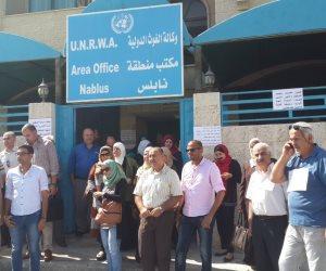 """اللاجئون الفلسطينيون بين مطرقة الاحتلال وسندان """"أونروا"""""""