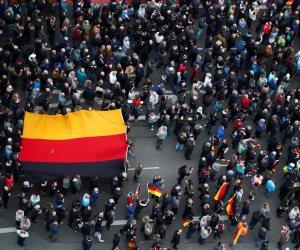 بعد مقتل شخص على يد لاجئين.. المظاهرات المعادية للهجرة تتجدد فى ألمانيا
