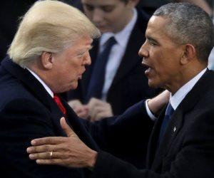 أزمات ترامب: 100 تغريدة هجوم.. واتهام أوباما بتدبير مؤامرة بالبيت الأبيض