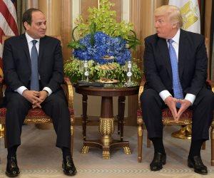 صحيفة أمريكية: ترامب يلتقى السيسى اليوم وعددا من قادة العالم فى نيويورك