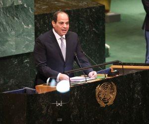 خلال رئاسته مجموعة الـ77.. تعرف على رؤية السيسي لإصلاح منظومة الأمم المتحدة التنموية