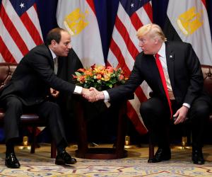 مصر العفية.. لماذا وصف ترامب الرئيس السيسي بـ«العظيم»؟