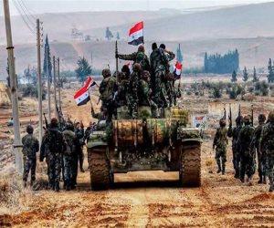 داعش يحتضر.. تفاصيل مواصلة الجيش السوري استهداف فلول التنظيم الإرهابي