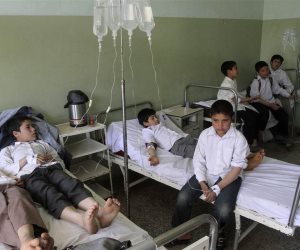 الترمس فيه سم قاتل.. نقل 11 تلميذا إلى مستشفى دكرنس مصابين بالتسمم (محدث)