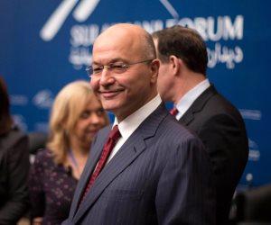 بالتزامن مع مفاوضات أستانة.. ماذا قال الرئيس العراقي عن الاستقرار في سوريا؟
