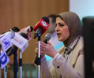 وزيرة الصحة تؤكد لنظيرها اللبنانى استعداد مصر لدعم القطاع الصحى للدولة الشقيقة