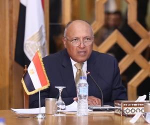 وزير الخارجية يلتقى نظيره الأردنى ووزير الدولة الإماراتى فى قصر التحرير  اليوم