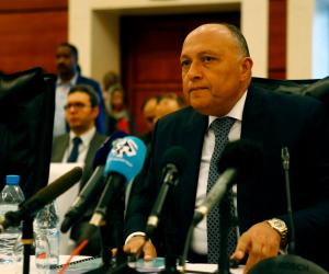 وزير الخارجية عن التعنت الإثيوبي في مفاوضات سد النهضة: سنضطر لاتخاذ خيارات أخرى