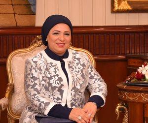 قرينة الرئيس السيسي تهنئ الشعب المصرى بعيد الفطر المبارك
