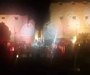 حفل زفاف على جثث الأجداد.. من سمح بتحويل بهو معبد الكرنك لقاعة أفراح؟ (صور)