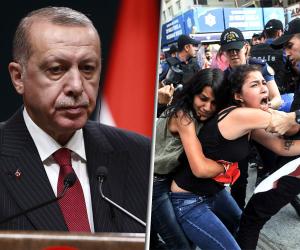 أردوغان الوجه الحقيقي للديكتاتورية.. الرئيس التركي يقمع أعضاء حزب العمال الكردستاني