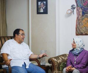 ما حقيقة دفن الفنان الراحل صلاح قابيل حيا.. وهل تزوج من وداد حمدى؟: نجله يجيب (صور)
