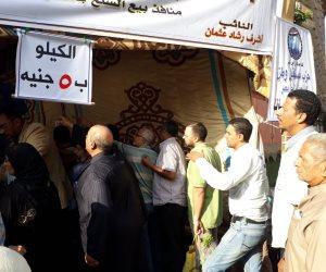 معاك على المرة قبل الحلوة.. مستقبل وطن في الإسكندرية يوزع البطاطس بـ5 جنيهات (صور)