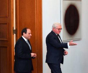 «مكافحة الإرهاب» على طاولة لقاء السيسي ووزير الداخلية الألماني