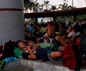هاربون من الفقر والجوع.. مهاجرو أمريكا الوسطى في رحلة إلى المجهول (صور)