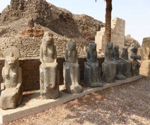محتويات المتحف المفتوح في معبد الكرنك.. بوابة مهمة لتنشيط السياحة