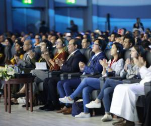 نالت تأييد الحضور.. هكذا أبرزت وسائل إعلام عربية ودولية تصريحات السيسي في منتدى الشباب