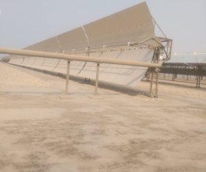 محطة الكريمات الشمسية توفر ملايين الجنيهات سنويا: 10 آلاف طن لتوليد 20 ميجا وات